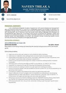 resume qa qc inspection engineer naveen