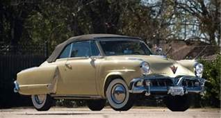1952 Studebaker Commander Convertible With Images