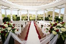 delmar events red black and white wedding ceremony outdoor red roses david jeffrey florist