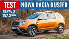 Dacia Modelle 2018 - nowa dacia duster 2018 test pl pierwsze wrażenia