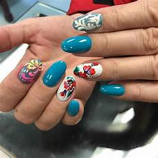 summer nail art 2019 bright colored and stylish summer