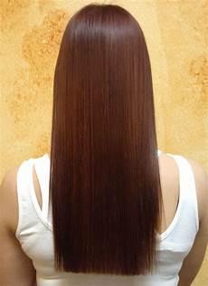 sleek hair after keratin smoothing treatment my work in 2019 hair lengths one length hair