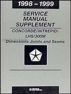 service repair manual free download 1999 chrysler lhs auto manual 1998 1999 concorde lhs 300m intrepid body shop manual chrysler dodge service ebay