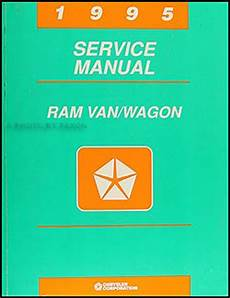 service manuals schematics 1996 dodge ram van 3500 user handbook 1995 dodge ram van wagon repair shop manual original b1500 3500