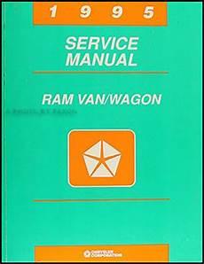 all car manuals free 1995 dodge ram van 3500 security system 1995 dodge ram van wagon repair shop manual original b1500 3500