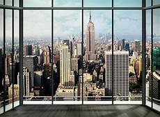 new york city mural wallpaper new york city view wall mural wallpaper shop