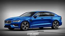 Next 2018 Volvo S60 Imagined Rendering