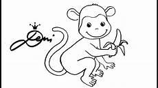 196 ffchen affe zeichnen lernen f 252 r kinder monkey drawing