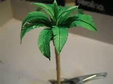 palme selber basteln palme basteln aus papier vorlage basteln