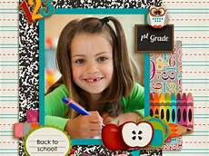 worksheets about family 18193 school time scrapbook smilebox