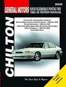 auto repair manual free download 2005 buick lesabre user handbook buick oldsmobile pontiac fwd chilton repair manual 1985 2005 hay28200