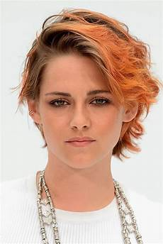 kristen stewart cut her hair see her new short haircut from the chanel show glamour