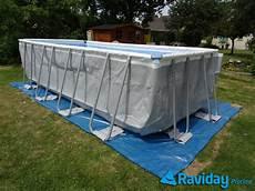 installer piscine hors sol sur 92998 les pr 233 requis pour installer une piscine hors sol pr 233 paration du terrain