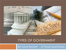 ppt basic forms of government republic democracy oligarchy monarchy anarchy powerpoint