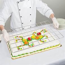 60 piece stainless steel full size sheet cake marker