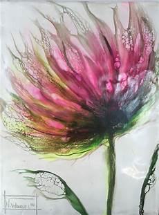 blumen acrylmalerei vorlagen blume malen