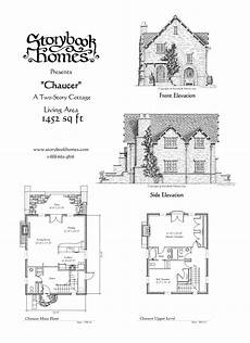 storybook cottage house plans chaucer houseplan via storybook homes storybook house