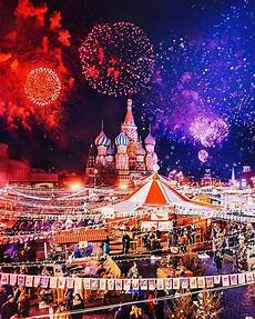 fairytale like christmas celebration in moscow amusing planet