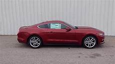 ruby 2016 mustang ecoboost pony package coupe auto