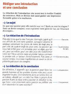 Introduction Et Conclusion Fle Conseils D 233 Criture