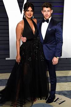 nick jonas priyanka chopra nick jonas and priyanka chopra all laughs at oscars