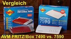 Vergleich Avm Fritz Box 7590 Vs 7490