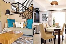 a play of patterns and light colors in a cavite home living room lighting design home