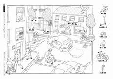 Vorschule Malvorlagen Pdf Stra 223 Enszene Verkehrserziehung Grundschule