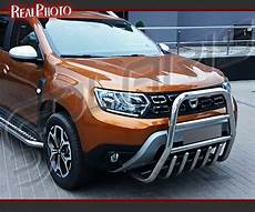 Dacia Duster Mk2 2017 High Bull Bar Nudge Bar