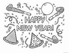 Neujahr Malvorlagen Celebration Coloring Pages At Getcolorings Free