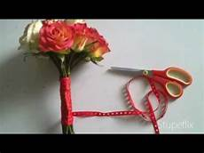 cheap and simple diy wedding bouquet youtube