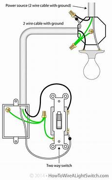 how to wire a light switch to a light 2 way switch with power source via light fixture how to wire a light switch in 2019 home