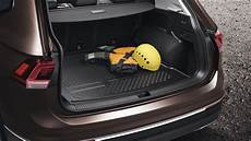 Tiguan Allspace Kofferraum - luggage compartment tray gt luggage compartment gt comfort