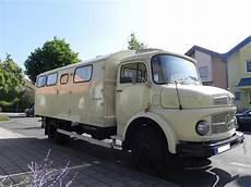 Mb La 710 Wohnmobil Mercedes Cer Oldtimer Lkw