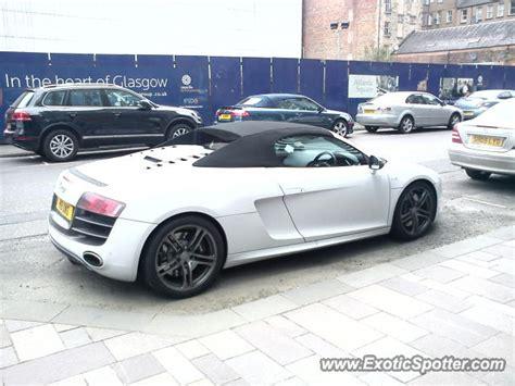 Audi R8 Spotted In Glasgow, United Kingdom On 03/14/2012
