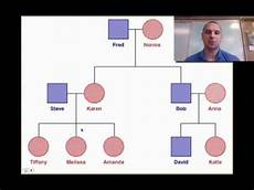 Prepare A Pedigree Chart For Blood Group Heredity Amp Blood Types Video 14 Youtube