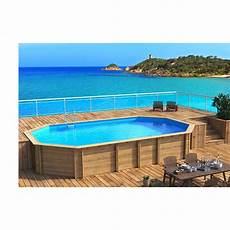 piscine bois octogonale semi enterrée piscine bois octogonale allong 233 e hors sol semi enterr 233 e