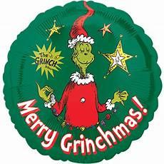 how the grinch stole christmas merry grinchmas quot foil balloon green walmart com