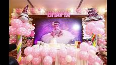 1st birthday decoration themes bhavya s 1st birthday teaser