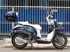 Scoopy Modif Retro by Doctor Matic Klinik Spesialis Motor Matic Modifikasi