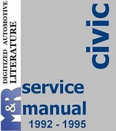 book repair manual 1996 honda civic navigation system 1992 1995 civic honda original service manual pdf format suitable for all windows linux