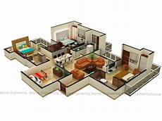 top office st malo 3d floor plan services architectural 3d floor plan