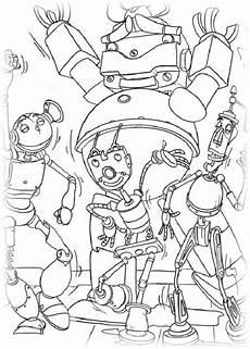 Ausmalbild Lego Roboter Ausmalbilder F 252 R Kinder Roboter 16