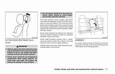 manual repair free 2005 nissan frontier seat position control 2005 frontier owner s manual
