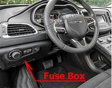 Fuse Box Diagram Chrysler 200 Mk2 2015 2017