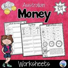 money worksheets year 3 australia 2404 australian money worksheets year 3 4 by bee happy tpt