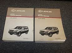 motor auto repair manual 2001 lexus lx windshield wipe control 2000 lexus lx470 suv workshop shop service repair manual book set 4 7l v8 ebay