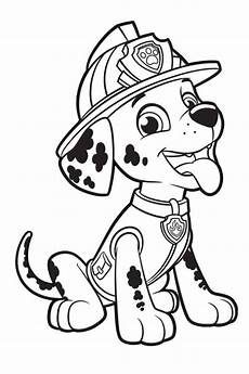 marshall paw patrol coloring pages paw patrol coloring