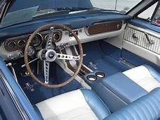 Caspian Blue 1965 Ford Mustang Convertible