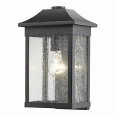 loon peak astille 1 light outdoor flush base finish black outdoor wall lantern outdoor